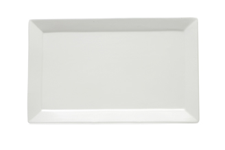 White Basics Rectangular Platter 45x28cm Gift Boxed