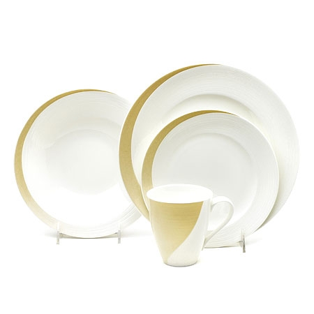 Mikasa Esprit Gold 4 piece Place Setting A9301-704 disc
