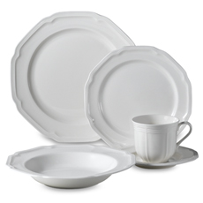 Mikasa Antique White 5pc Place Set