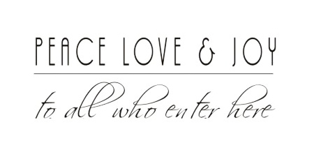 Peace Love Joy Quotes Inspiration Walltalk Decorative Quotes Wish Kitchen And Gift