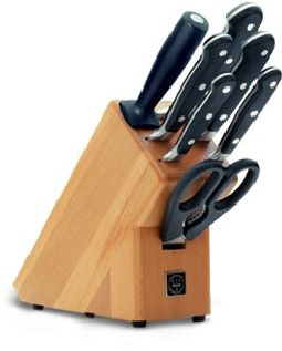Wusthof Classic 8 pc Knife Block Set